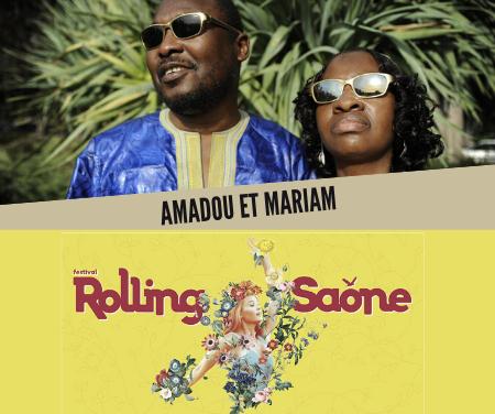 Rolling Saône 2019 – Boite à questions Amadou et Mariam